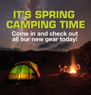 Check out new Spring Camping Gear at the Scout Shop