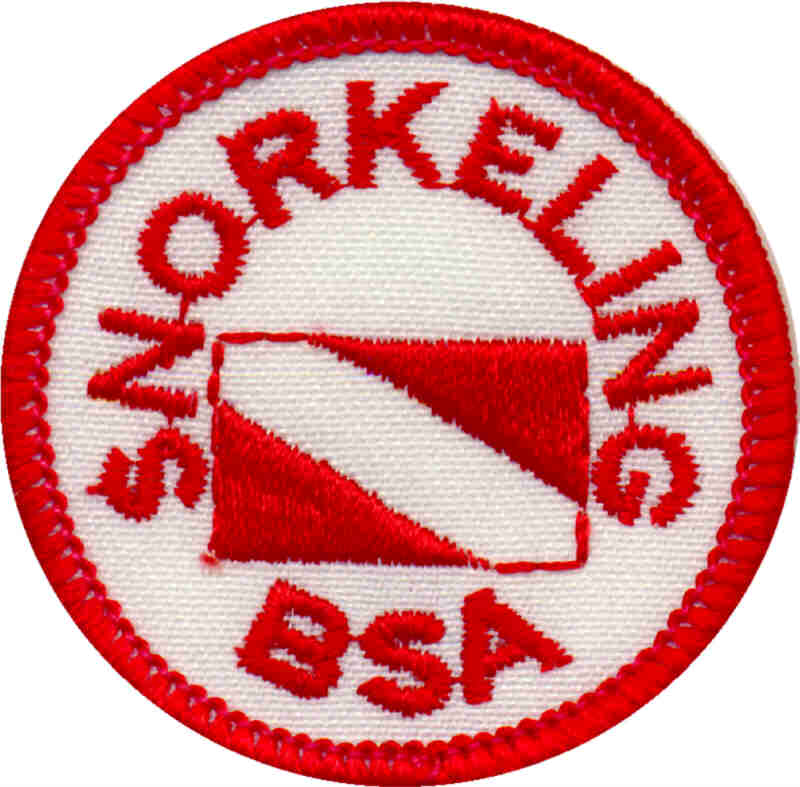Snorkeling BSA Patch