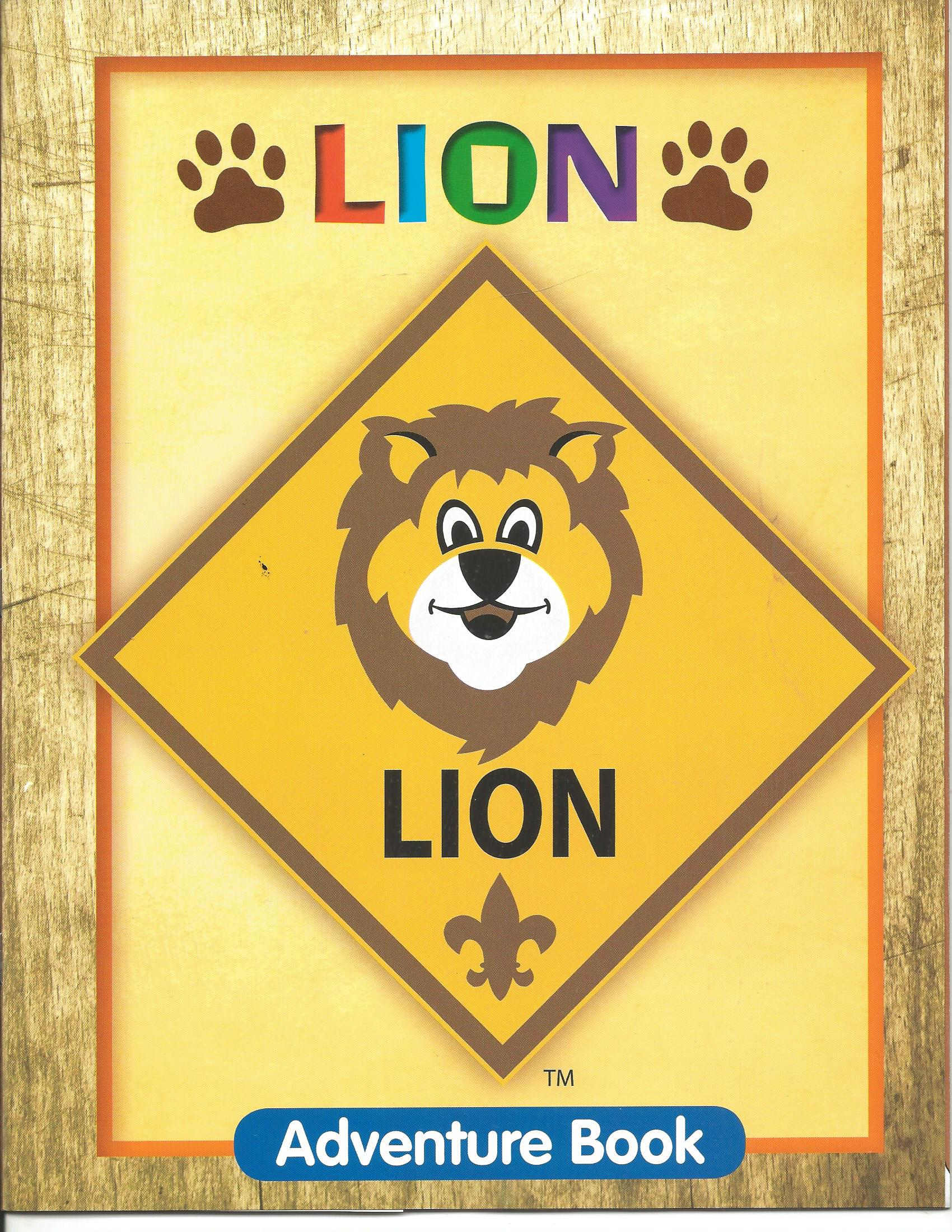 Lion Participant Activity Book