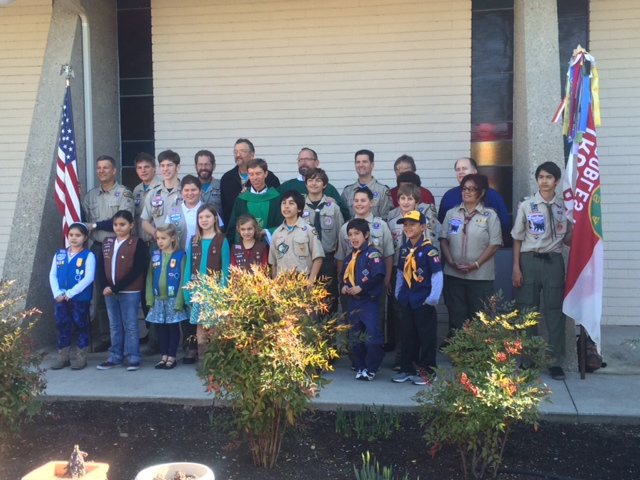 Scout Sunday at St. Rose Church, Paso Robles