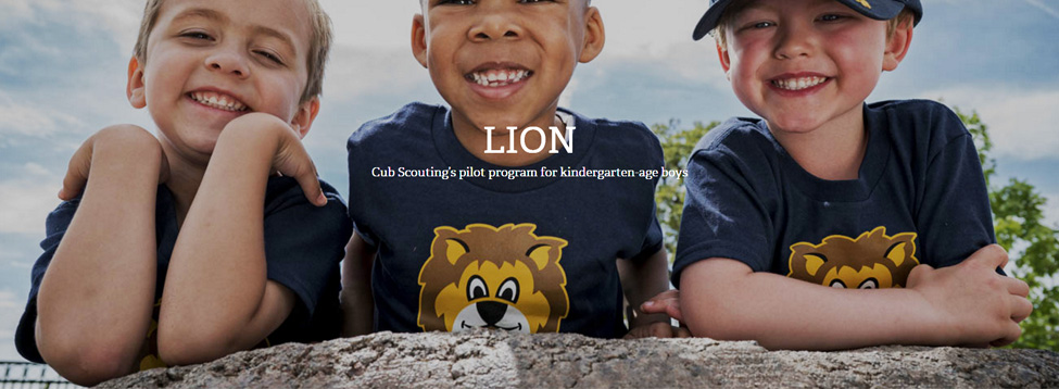 Lions - Cub Scouting's program for kindergarten aged boys