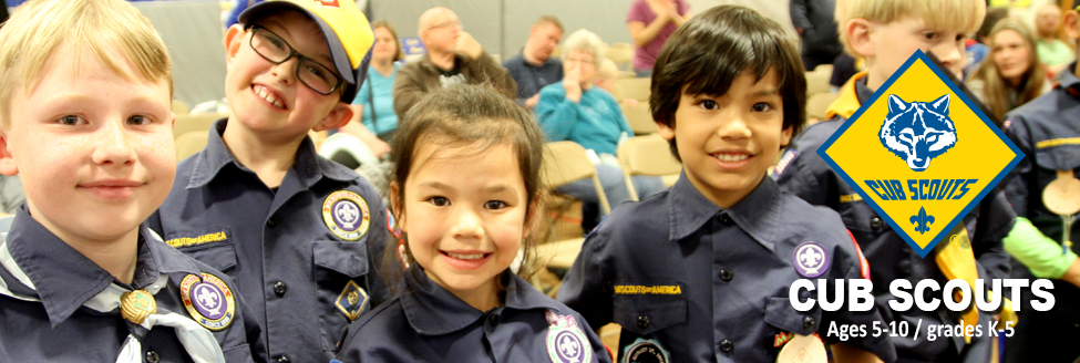 Cub Scouts (Youth, Ages 6-10, Grades K-5)