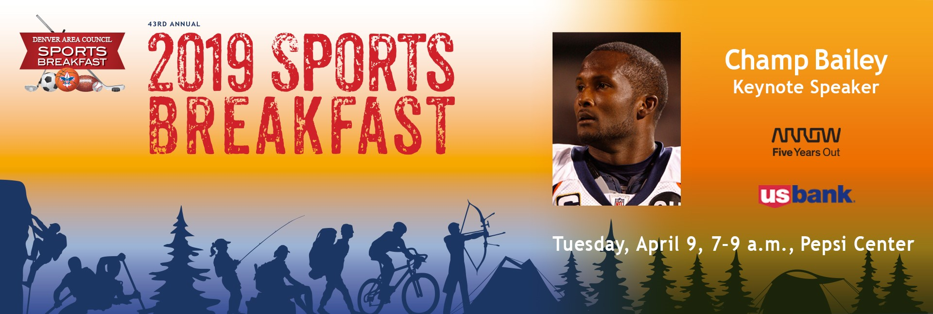 2019 Sports Breakfast with Champ Bailey