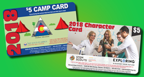 Camp Card Sale