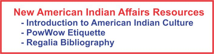 New American Indian Affairs Materials.
