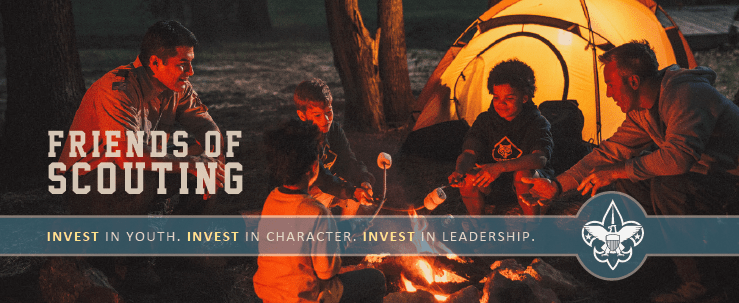 Become a Friend of Scouting