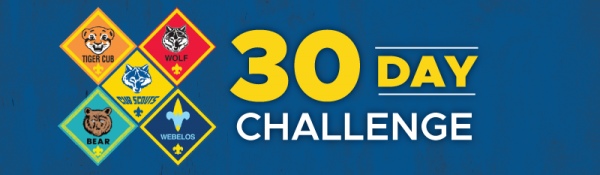 Cub Scout 30-Day Challenges