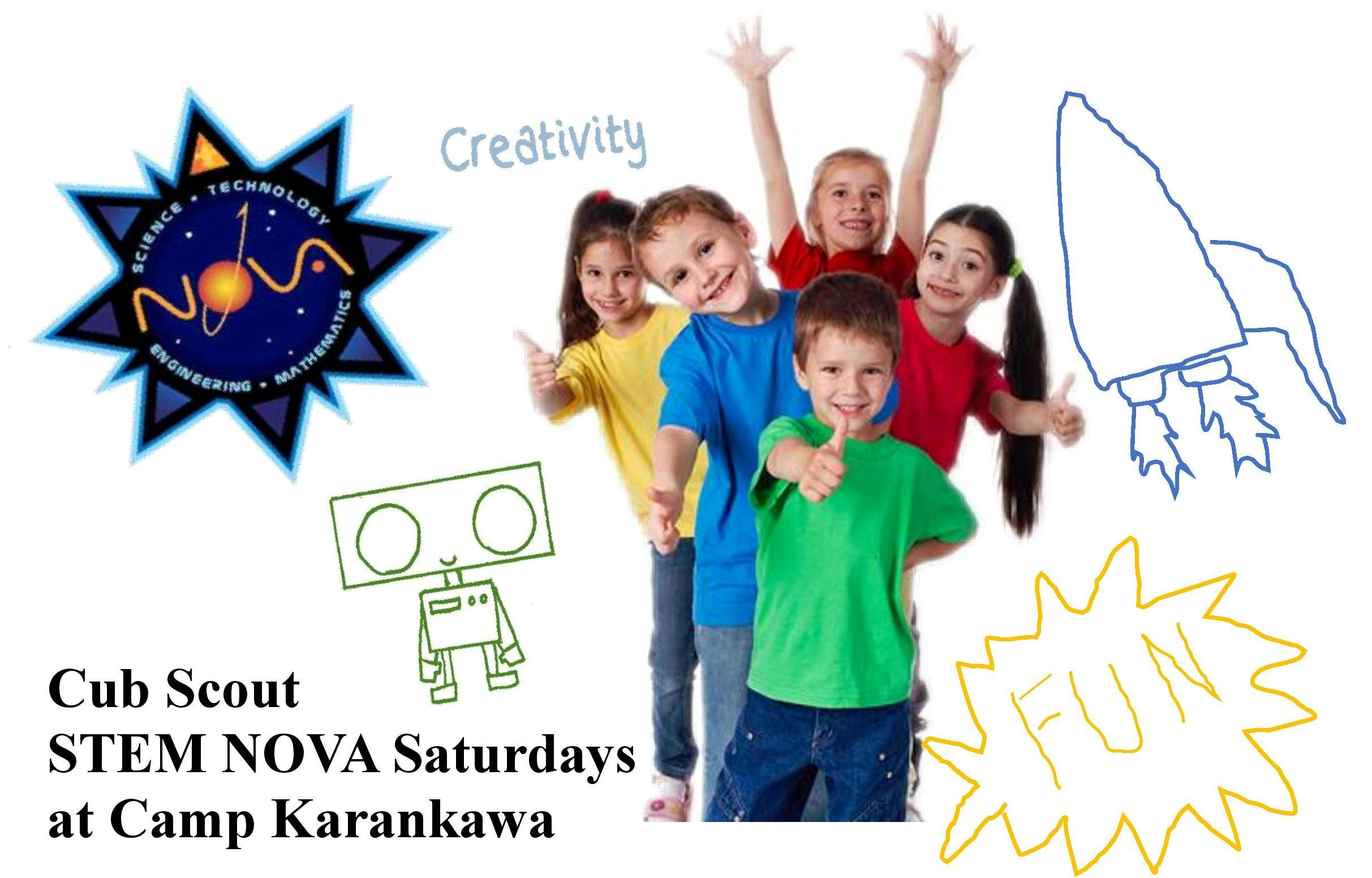 STEM NOVA Saturdays Camp Karankawa Bay Area Council