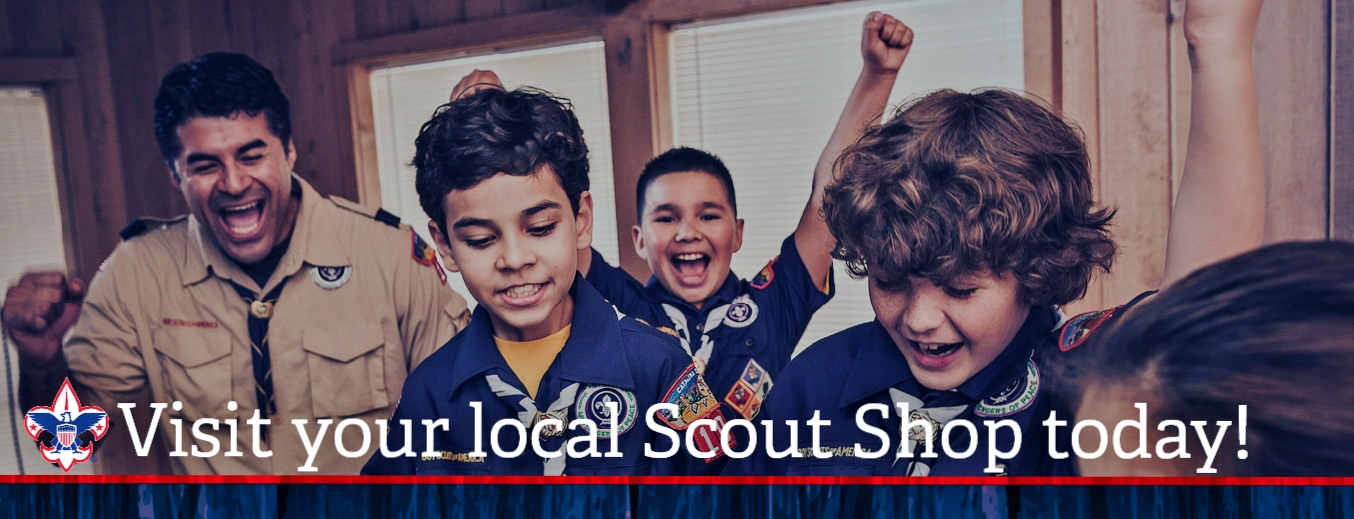 Support your local Scout Shop!