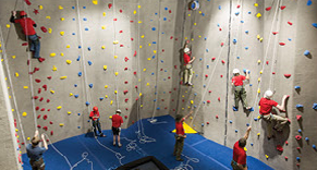 Colorado Adventure Point climbing wall