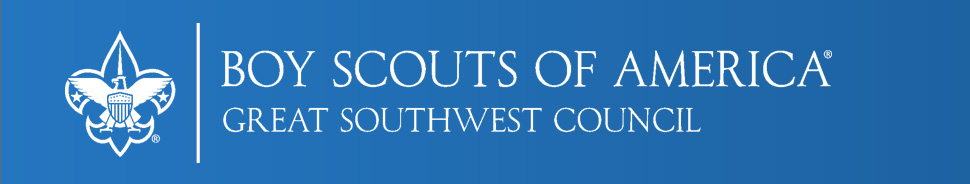 Great Southwest Council, Boy Scouts of America Heading