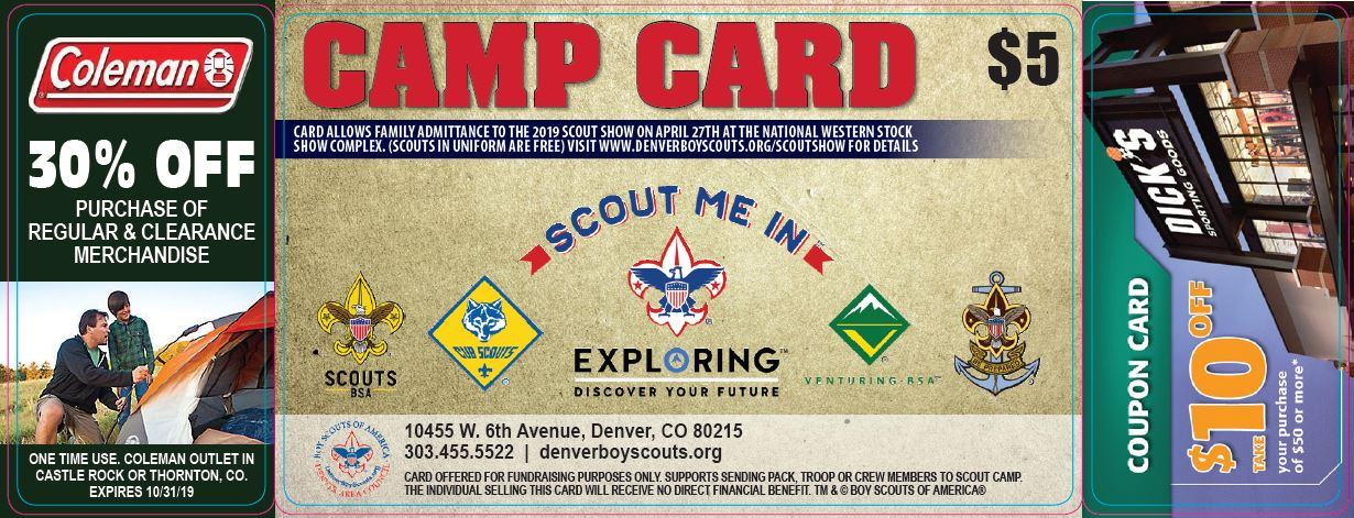 Camp Card front