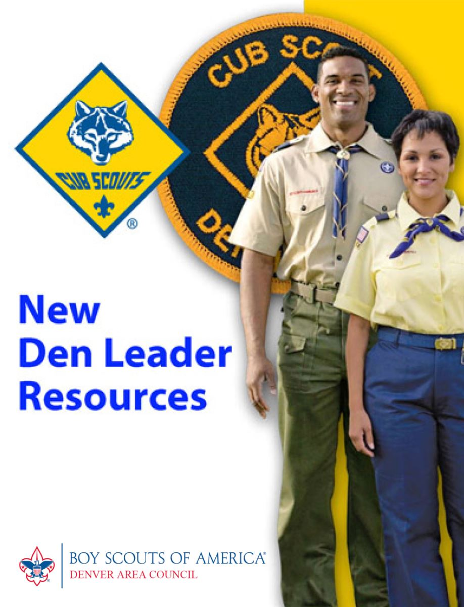 New Den Leader Resources