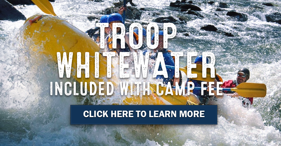 Whitewater rafting experience