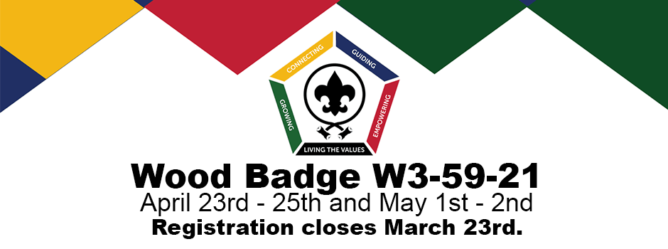 Wood Badge 2021
