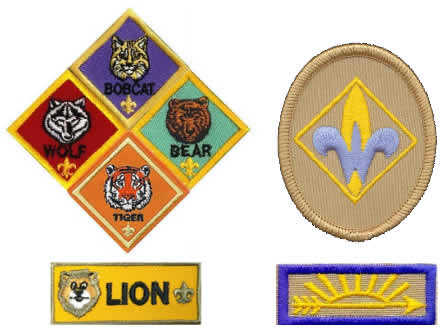cub scout and webelos ranks