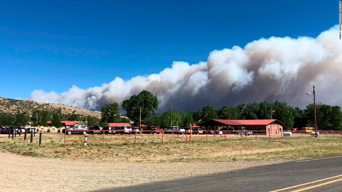 Philmont Scout Ranch Fire