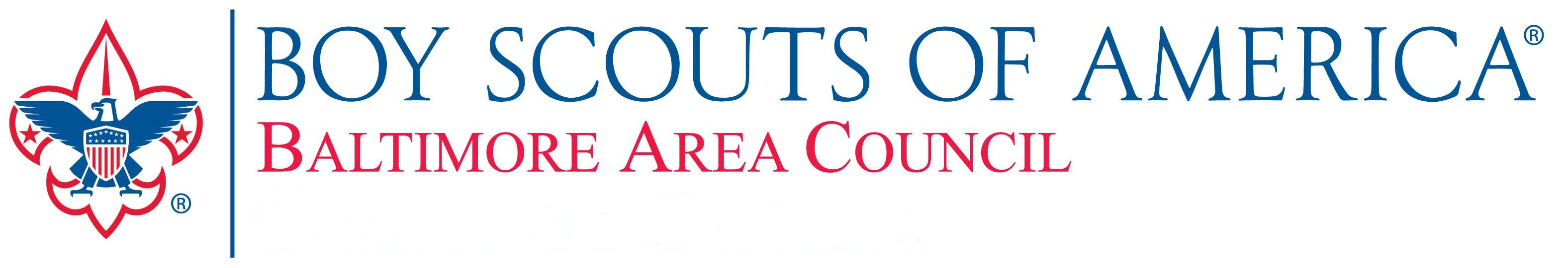 This is the logo for the Boy Scouts of America, Baltimore Area Council.  You can click this link to take you to the Home Page