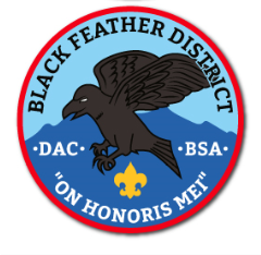 Black Feather District Patch
