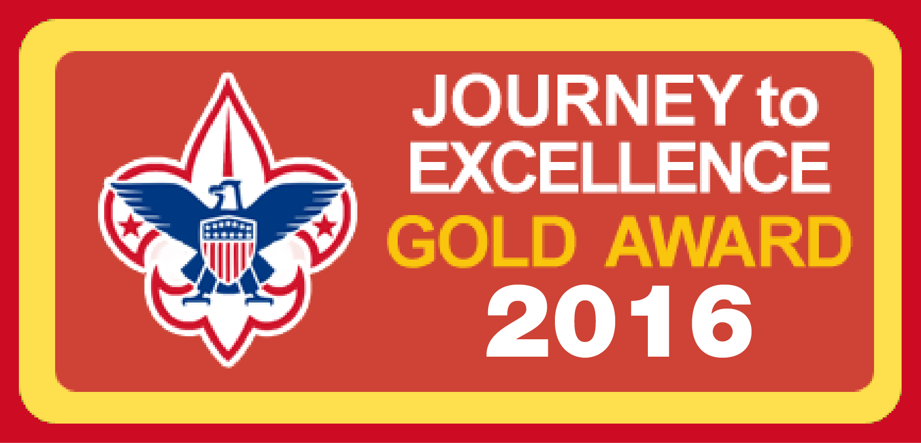 Image result for journey to excellence gold award 2016
