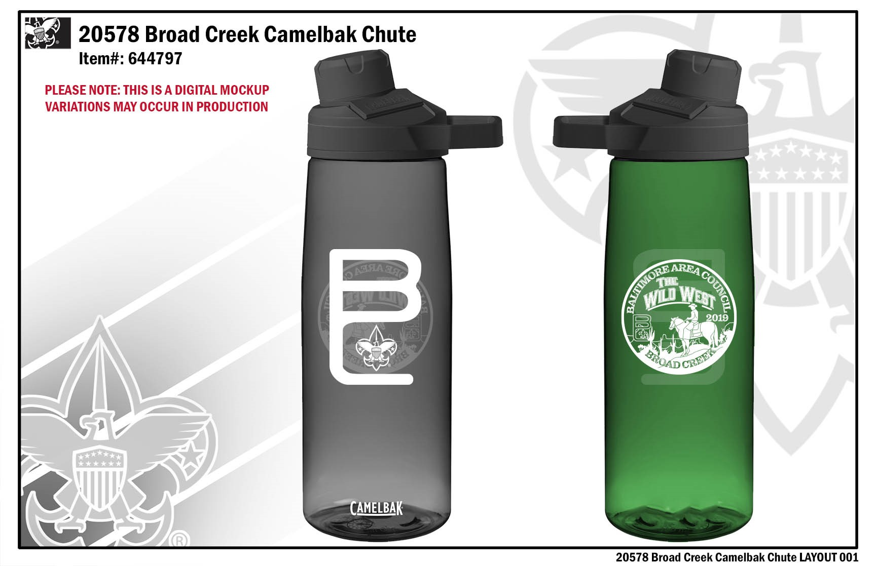 cheaper best sell special section 2019 Scouts BSA SC T-Shirt, Nalgene or CamelBak Water Bottle ...