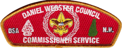 Commissioner Service Council Shoulder Strip