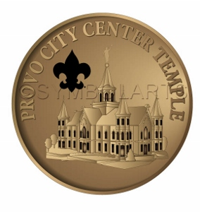 Provo City Center Temple Pin