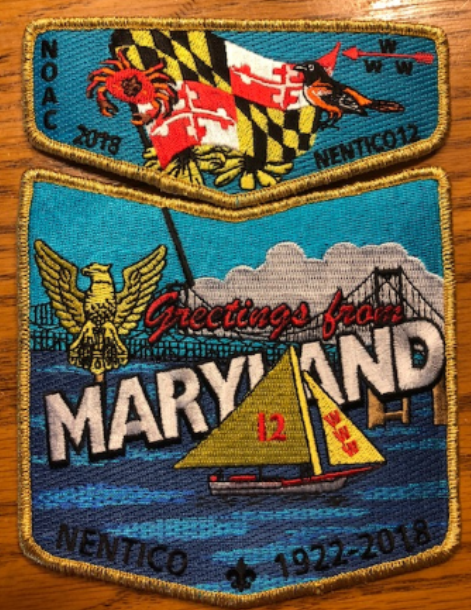 NOAC 2018 Fundraiser Patch Set