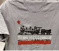 CJM Gray Train T-Shirt