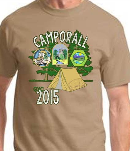 2015 Camporall T-shirt - YM