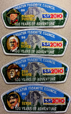 100th Anniv Founders CSP Numbered Set