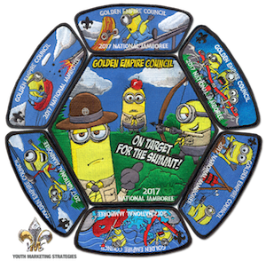 Complete Jamboree Patch Set - Black border