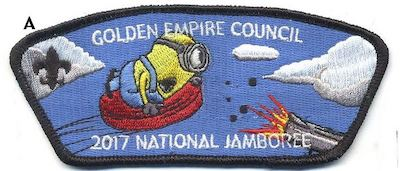 Clay Pigeon Jamboree Shoulder Patch
