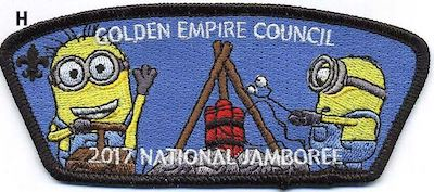 Campfire S'mores Jamboree Shoulder Patch