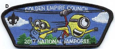 Big Zip Jamboree Shoulder Patch