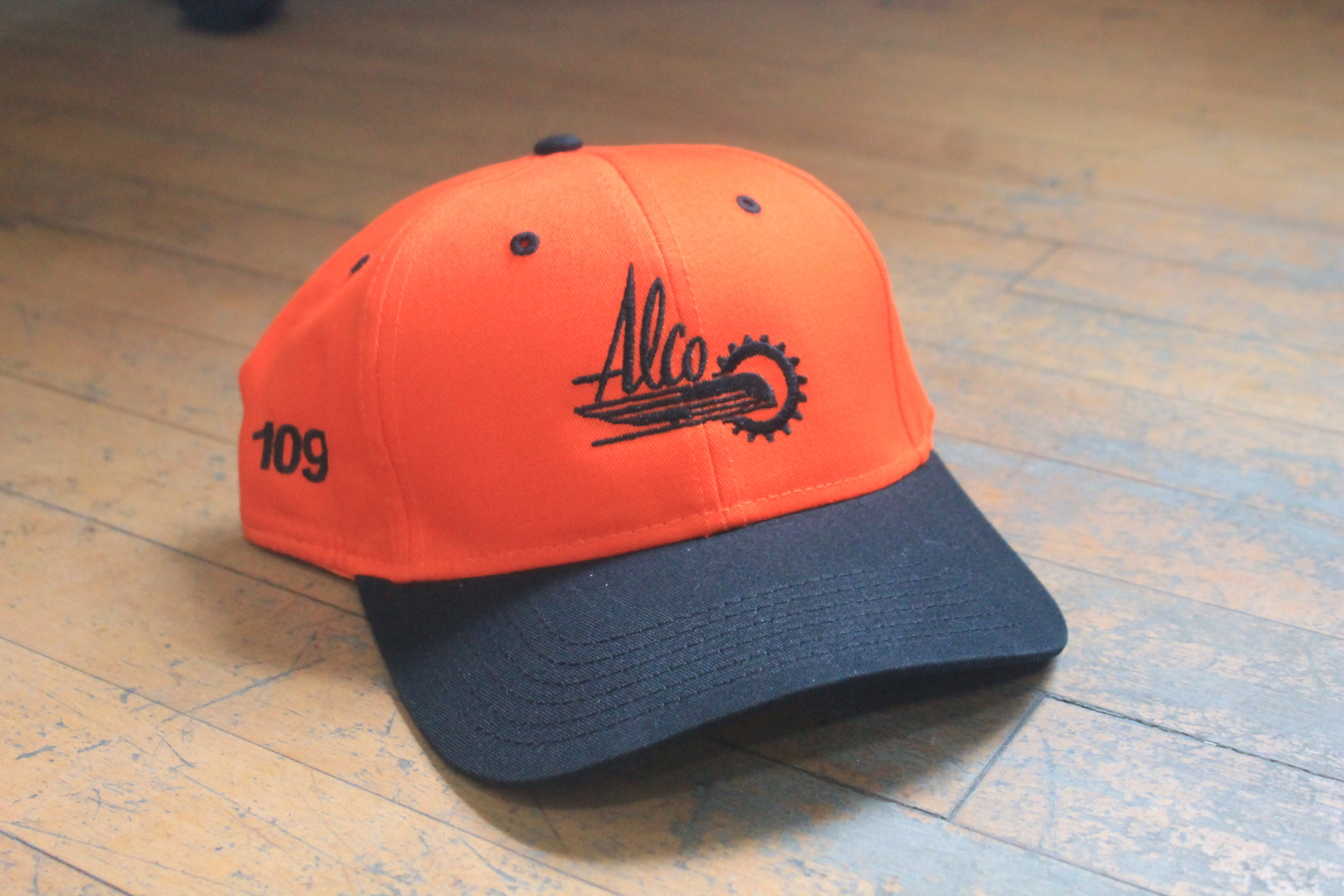 Orange Alco Hat