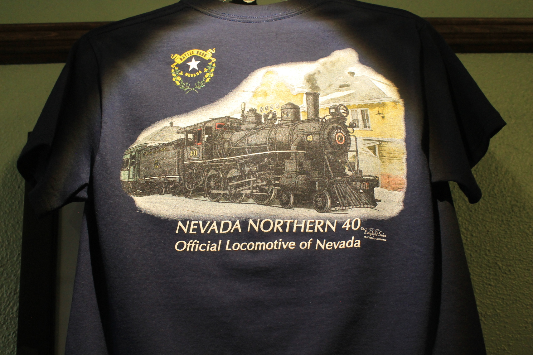 40 Nevada Flag Tshirt XXXL