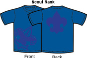 H. Scout Class Rank T-Shirts