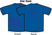 E. Star Rank T-Shirts