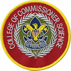College of Commissioner Science Patch